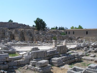 market at corinth