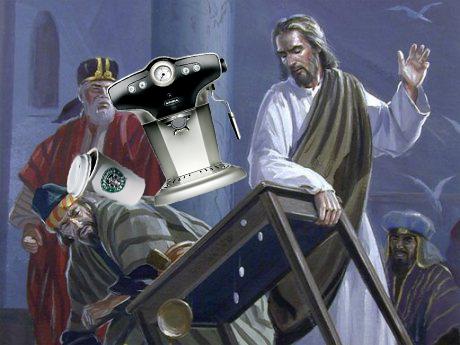 Jesus Starbucks